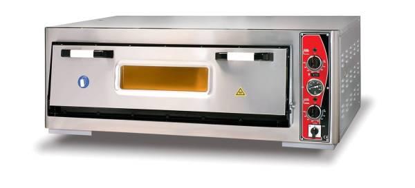 Pizzaofen Einkammer 6xØ 30 cm Thermometer