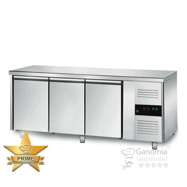 Kühltisch Gastronomie aus Edelstahl mit 3 Türen