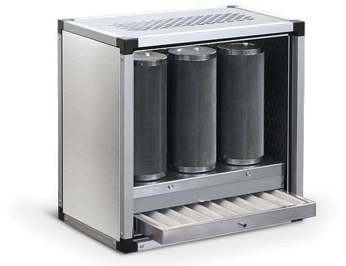 Aktivkohle Einheit 2500m³/h Vorfilter Aktivkohlefilter ohne Motor