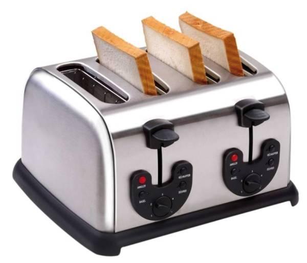 Toaster Edelstahl 34 x 30,5 x 19,5 cm
