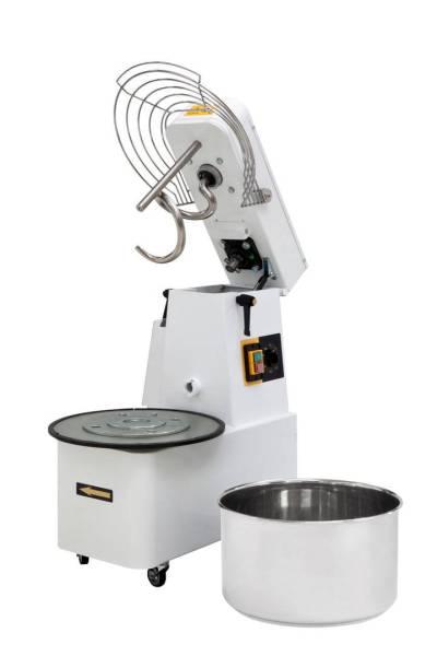 Teigknetmaschine aufklappbares Rührwerk 2 Geschwindigkeiten 22 Liter 22 kg 400V