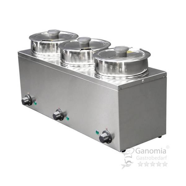 Bain-Marie Hotpot 3 x Topf 3,5 Liter