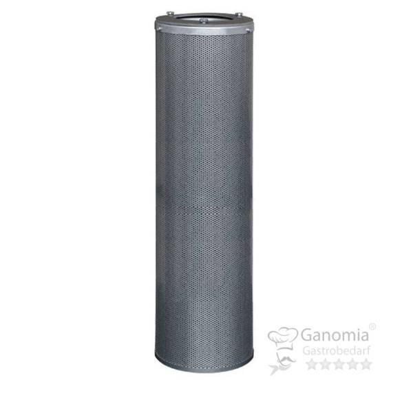 Aktivkohlepatrone verzinkter Stahl 145x600 mm 5 kg