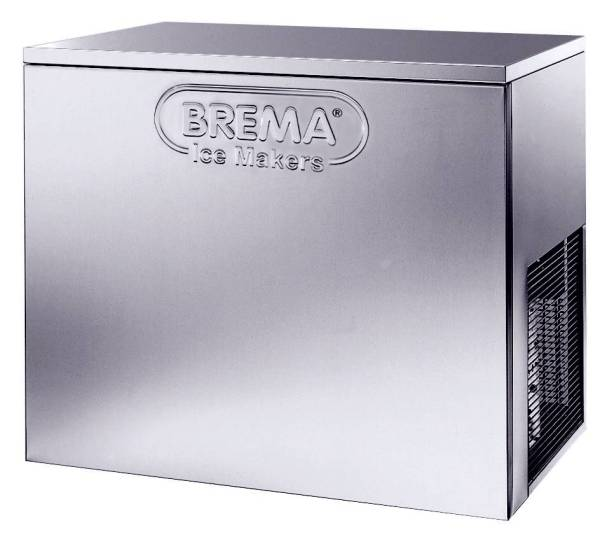 Eiswürfelmaschine Kegeleis 155 kg/Tag Wassergekühlt
