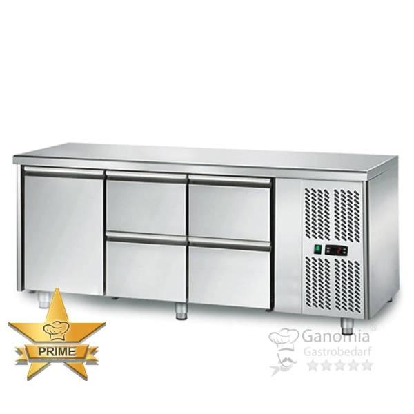 Kühltisch 1 Tür 4 Schubladen Höhenverstellbar
