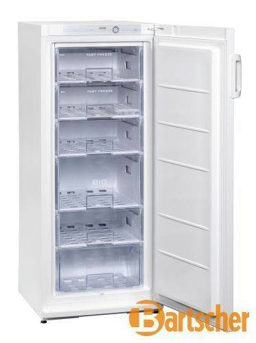 Gastro Tiefkühlschrank von Bartscher mit 196 L Volumen
