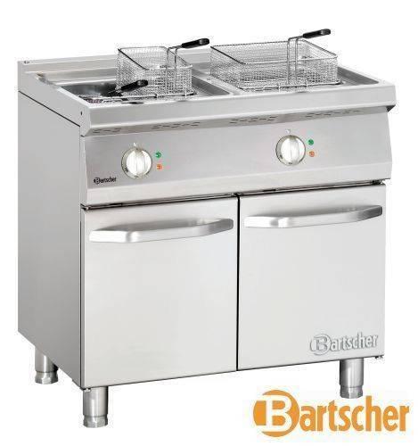 Bartscher Fritteuse Standgerät 2 x 15 Liter CNS