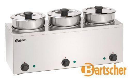 Bartscher Bain Marie Hotpot 3 x 3,5 Liter Tischgerät Elektro