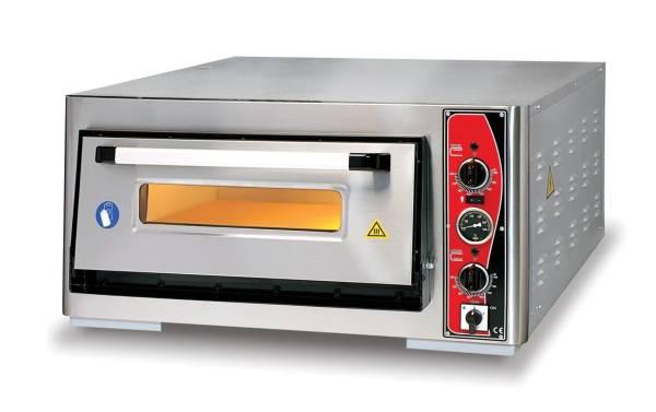 Pizzaofen Einkammer 4xØ 34 cm Thermometer