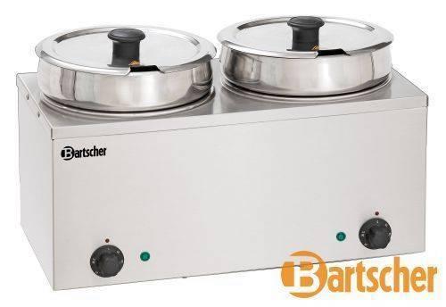 Suppentopf elektrisch Gastro 2 x 6,5 Liter