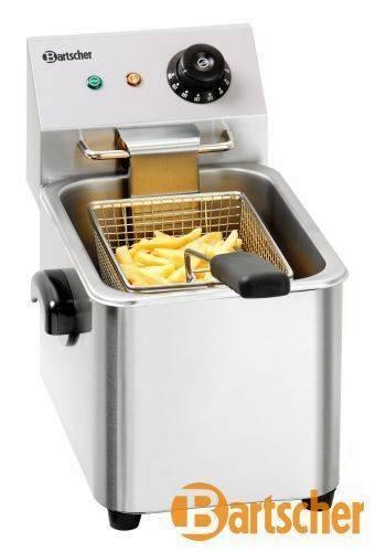 Bartscher Fritteuse 4 Liter Tischgerät