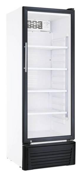 Gastro Kühlschrank Glastür Umluftkühlung 336 Liter