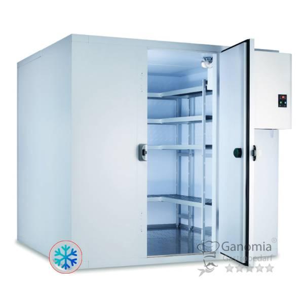 Tiefkühlzelle mit Tiefkühlaggregat 2,04 x 2,04 m
