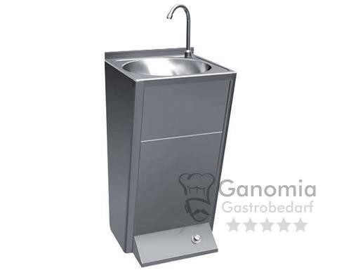 Edelstahl Handwaschbecken mit Mischbatterie 50 x 41 x 108 cm