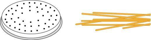 Matrize Nudelmaschine für Spaghetti