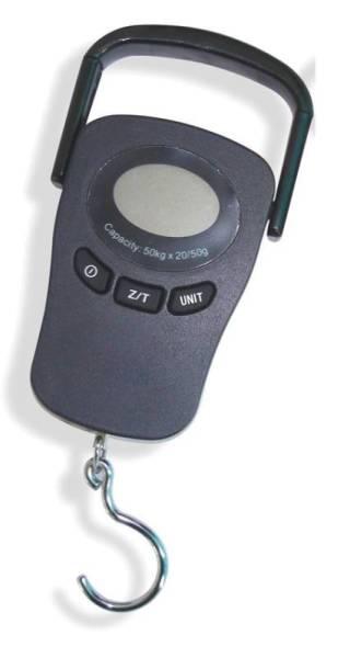 Mobile Küchenwaage Digital 50 kg / 20-50 g Teilung