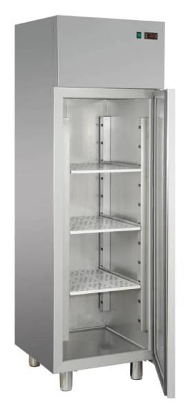 Edelstahl Kühlschrank mit 1 Tür 400 Liter