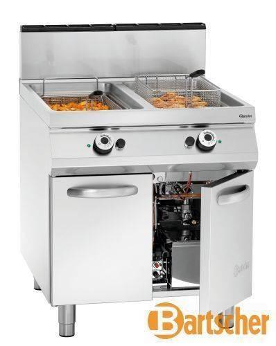 Bartscher Fritteuse Gas Standgerät 2 x 20 Liter