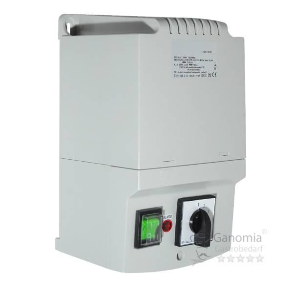 Drehzahlregler 230V 10A mit Gasanschluss, 5 Stufen