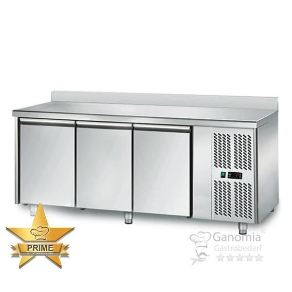 Kühltisch 3 Türen Höhenverstellbar mit Aufkantung