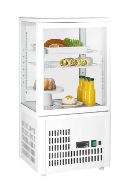 Gastro Kühlvitrine Glastür 58 Liter