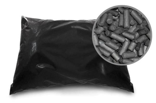 Aktivkohlepallets für Abluftreinigungsanlagen 25 kg Sack