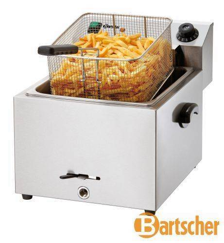 "Bartscher Fritteuse ""Imbiss Pro"" Elektro Tischgerät 9,7 Liter"