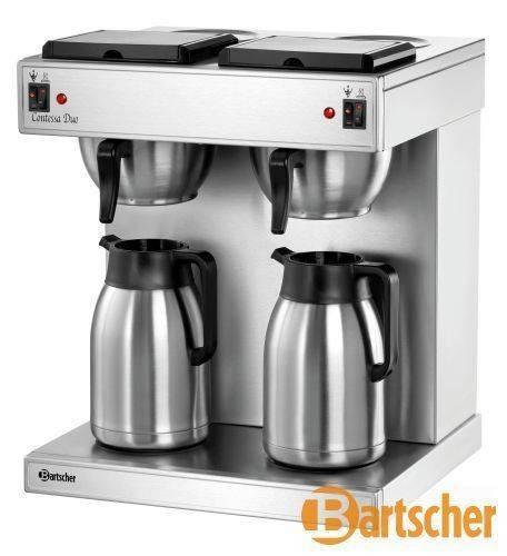 Bartscher Gastro Kaffeemaschine Doppelt 4 Liter