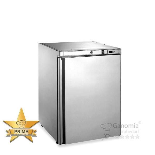Gastro Kühlschrank 161 Liter Umluft Edelstahl