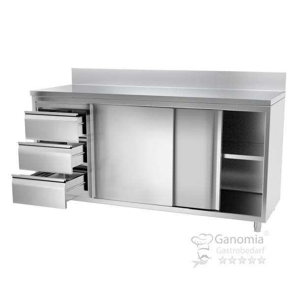 Edelstahl Küchenmöbel für die Gastronomie