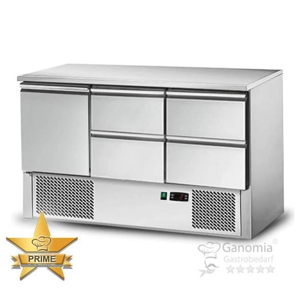 Kühltisch 1 Tür 4 Schubladen