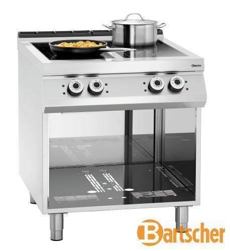 Bartscher Gastro Elektroherd mit 4 Kochfelder Induktion