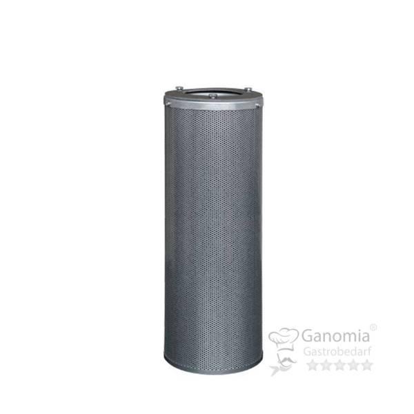 Aktivkohlepatrone verzinkter Stahl 145x455 mm 4 kg