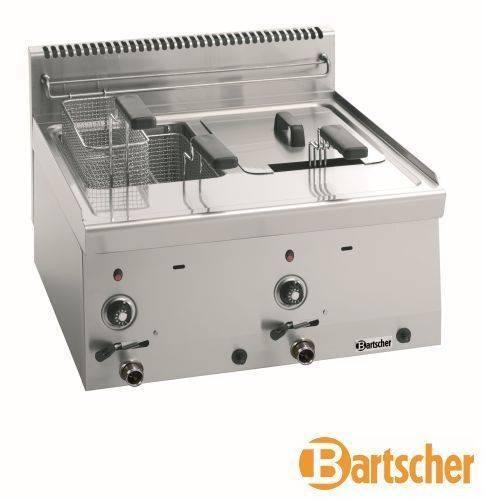 Bartscher Fritteuse Gas 2 x 8 Liter Tischgerät