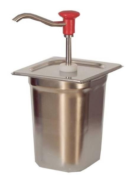Soßenspender Edelstahl 2,5 Liter
