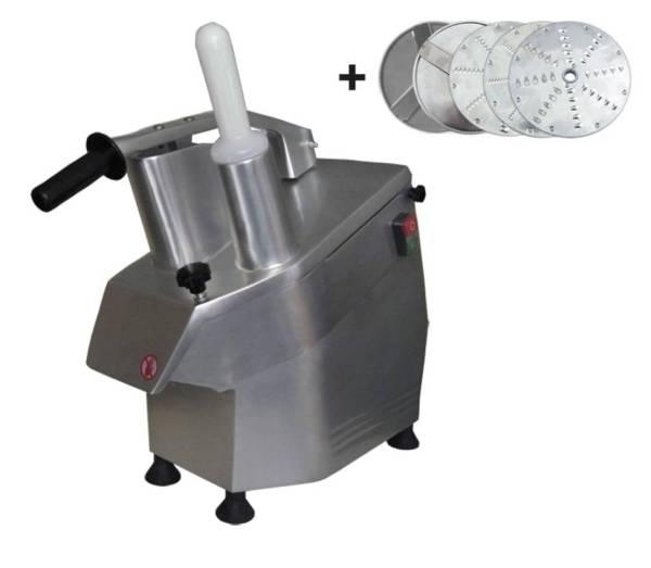 Gemüseschneidemaschine + 5 Scheiben