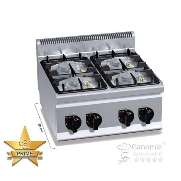 Gasherd Tischgerät 4 Brenner 19 kW