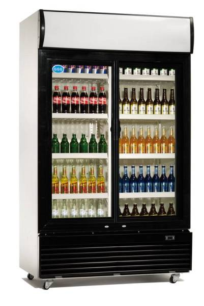 Gastro Flaschenkühler Umluftkühlung 600 Liter