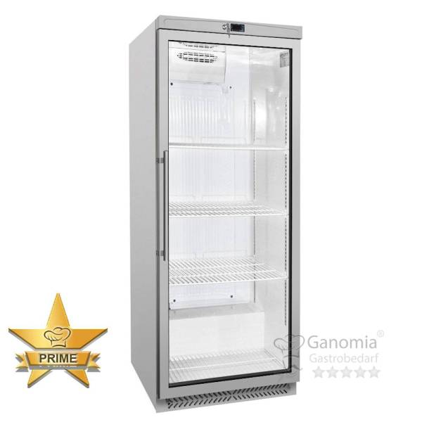 Gastro Kühlschrank 580 Liter Umluft Glastür