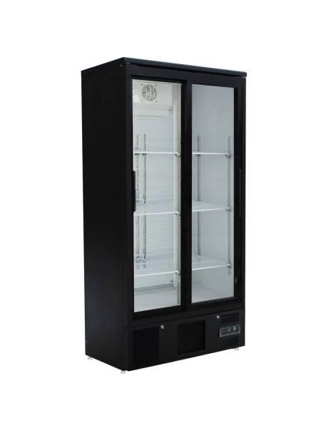Gastro Kühlschrank Glastür 490 Liter