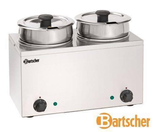Bartscher Bain Marie Hotpot 2 x 3,5 L Topf Tischgerät Elektro