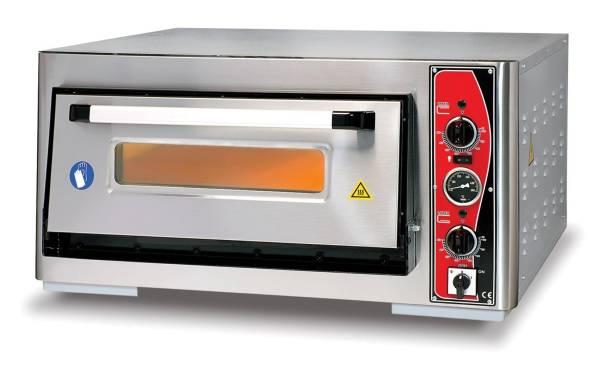 Pizzaofen Einkammer 4x Ø 30 cm Thermometer