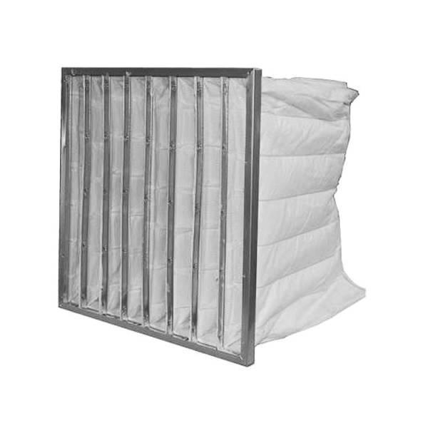 Taschenfilter für Lüftungsanlagen 60 x 60 cm