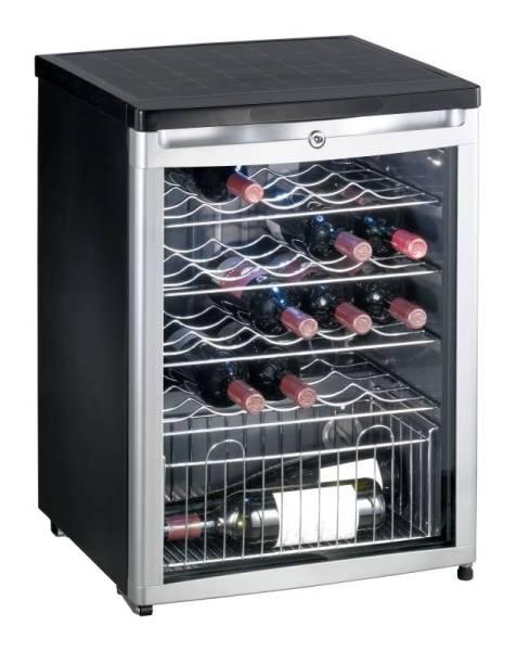 Gastro Weinkühlschrank mit 1 Tür 70 Liter für 24 Flaschen