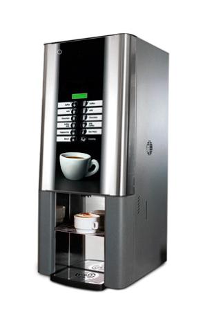 Kaffee Vollautomat mit 4 Pulverbehältern