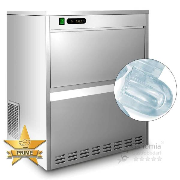 Hohlwürfel Eisbereiter / Eiswürfelmaschine 52 kg/ Tag