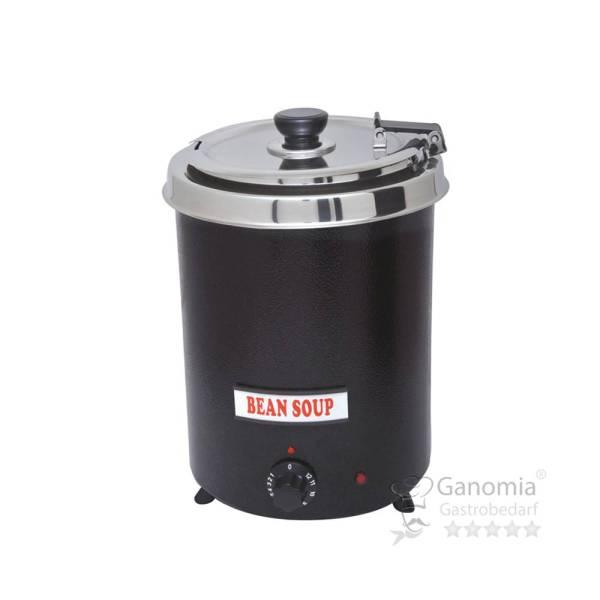 Suppentopf 5,7 Liter schwarz