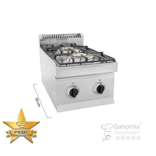 Gasherd Tischgerät 2 Brenner 9,5 kW