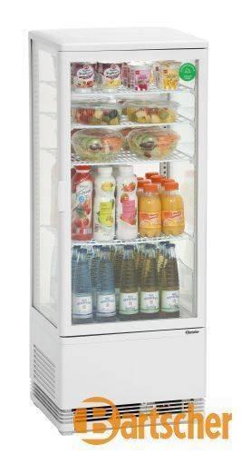 Bartscher Gastro Kühlvitrine 98 Liter Glas