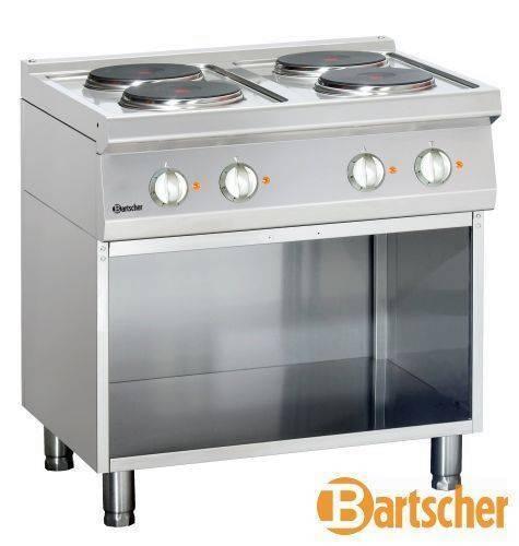 Bartscher Gastro Elektroherd mit 4 Kochfelder Ø 220 mm
